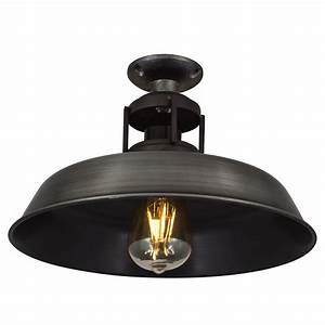 Ceiling light industrial lighting vintage