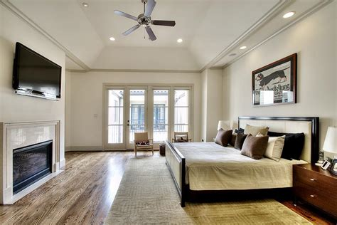 Master Bedroom Vaulted Ceiling-dma Homes