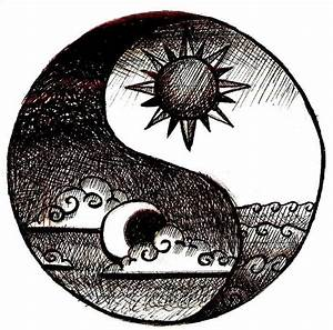 Love this because I want a sun and moon tattoo, and a yin ...