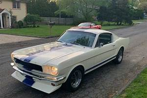 1965 Ford Mustang Fastback GT Tribute White