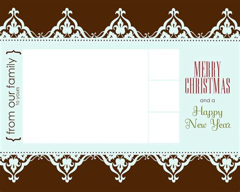 photo card templates printable free printable card templates allcrafts free