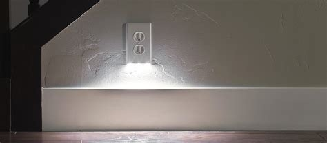 outlet plate night light electrical junction box cover plates electrical free