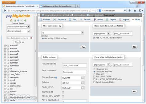 Phpmyadmin 4.7.5 Download For Windows / Filehorse.com