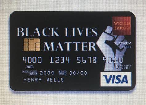 baltimore teachers black lives matter debit card design