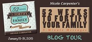 """Living Waters ~: """"52 Weeks To Fortify Your Family - 5 ..."""