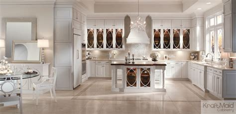 pictures of gray kitchen cabinets kraftmaid maple raised door in dove white transitional 7456