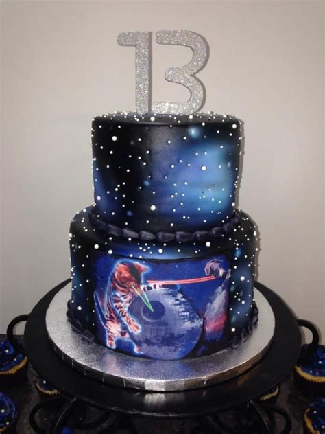 galaxy cat cake cake  melanie mangrum cat cakes