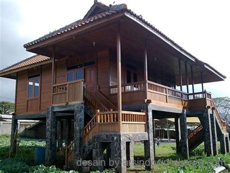 arsitektur  tb ixe desain rumah kayu minimalis