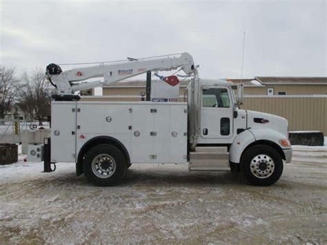 electric truck for sale 2016 peterbilt 337 service utility truck for sale