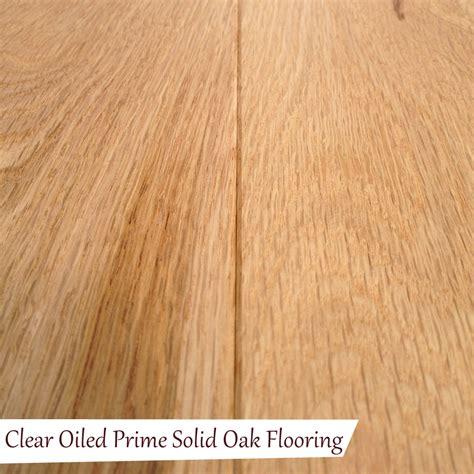 solid oak floors clear oiled prime solid oak flooring quality oak floors