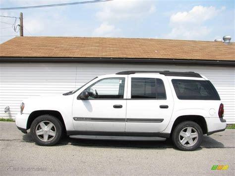 2002 Summit White Chevrolet Trailblazer Ext Lt 4x4