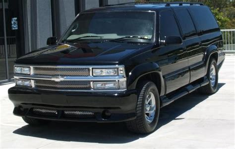 how to work on cars 1998 chevrolet suburban 2500 auto manual ving316 1998 chevrolet suburban 1500 specs photos modification info at cardomain