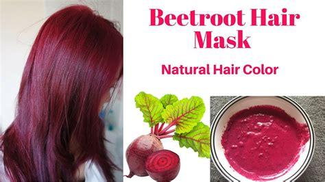 Natural Beetroot Hair Mask
