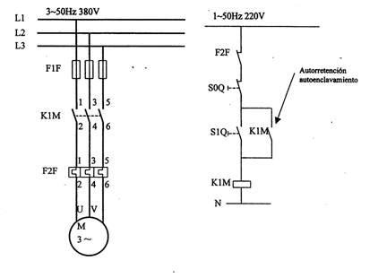 circuitos el 233 ctricos 1 arrancador a pleno voltaje