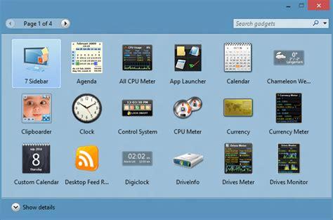 gadgets bureau windows 8 8gadgetpack brings windows 7 gadgets back to windows 10