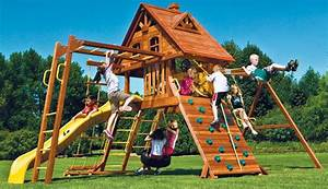 Aire De Jeux Soulet : aire de jeux enfant en 18 id es pour am nager votre jardin ~ Melissatoandfro.com Idées de Décoration