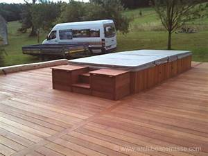 Spa Bois Exterieur : spa et jacuzzi exterieur gallery of jacuzzi exterieur ~ Premium-room.com Idées de Décoration