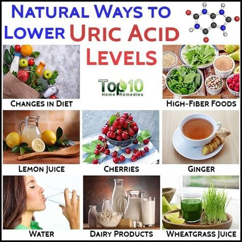 uric acid lower levels natural body remedies control ways level help dietary mishkanet
