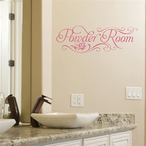 powder room wall quotes decal wallquotescom