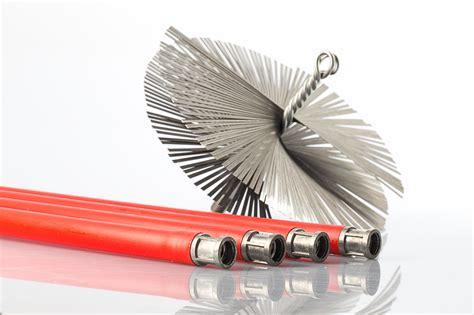 spazzole per camini kit spazzacamino con scovolo in acciaio baretto spazzole