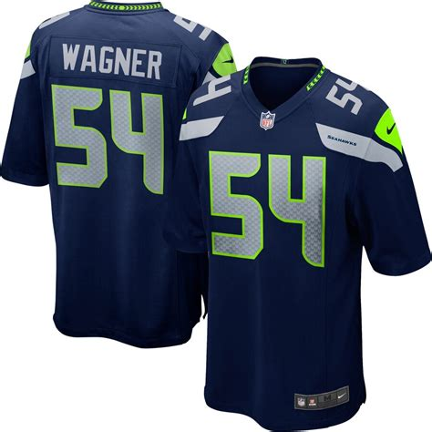 bobby wagner seattle seahawks nike youth team color game