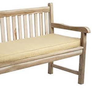 amazon com mozaic indoor outdoor corded bench cushion