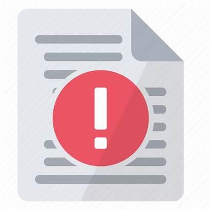 Icon Compilation Errors Document Folder