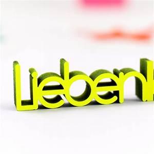 Lieben Leben Lachen : dekoschriftzug lieben leben lachen ~ Orissabook.com Haus und Dekorationen