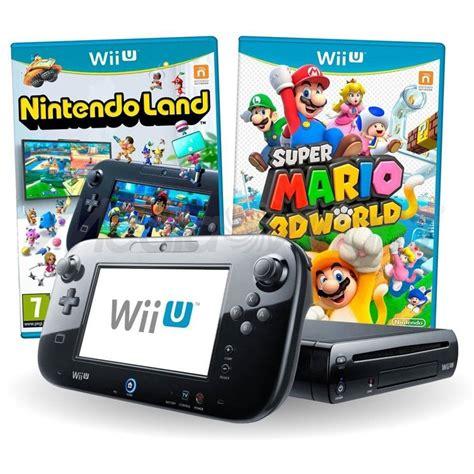 Console Nintendo Wii U by Console Nintendo Wii U Deluxe 32gb Jogo Mario 3d