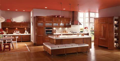cherry kitchen  cinnamon kraftmaid