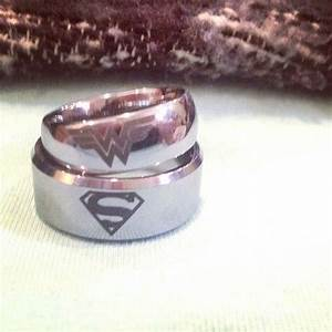 my girlfriend zombieheartztumblrcom and i recently got With wonder woman wedding ring