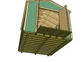 10x12 gable storage shed plans by shedking net youtube
