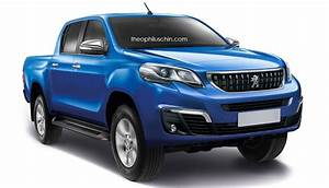 Peugeot Pick Up 2018 : peugeot pick up based on toyota hilux rendered ~ New.letsfixerimages.club Revue des Voitures