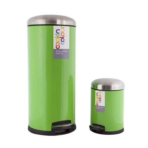 lime green kitchen bin new lime green stainless steel soft kitchen 7089