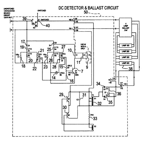 patent us6628083 central battery emergency lighting