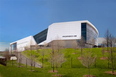 One Porsche Drive Doubles As Avengers Headquarters In New ...