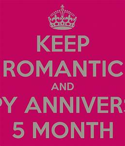 happy 5 month anniversary poems Quotes