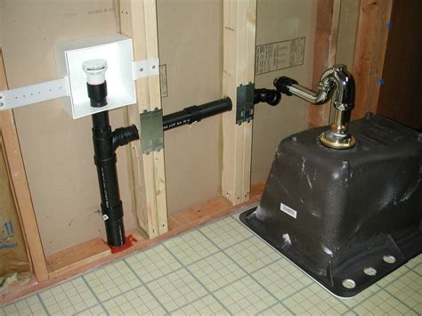 in wall sink vent does a laundry tub addition require a vent line