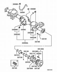 Rear Axle Housing  U0026 Shaft For 1993