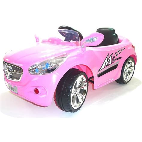 pink kid car review of pink 12v mercedes style ride on car for girls a