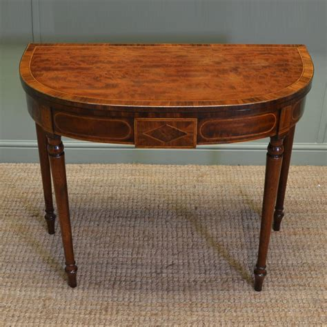 vintage console tables for spectacular quality regency mahogany antique inlaid d end 8826
