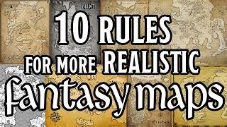 10 Rules for How to Draw Believable Fantasy Maps - World ...