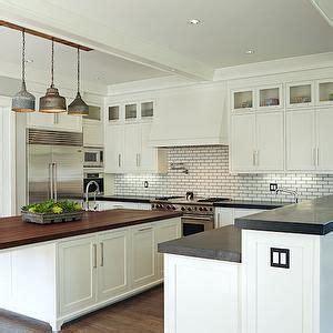 White Kitchen Cabinets, Butcher Blocks And Butcher Block