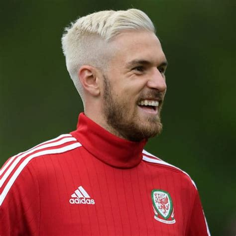 aaron ramsey haircut mens hairstyles haircuts