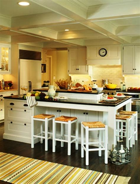 Ideas For Kitchen Islands With Seating - awesome kitchen island designs to realize well designed kitchens amaza design