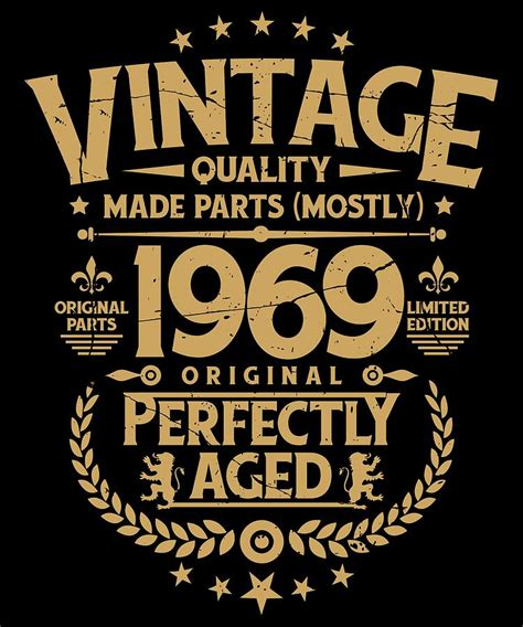vintage  birthday funny tshirt  perfectly aged
