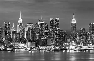 Black And White Landscape City