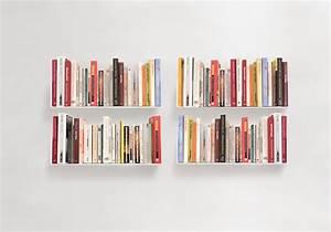 Etagere Livre Murale : tag re murale us 45 cm lot de 4 teebooks ~ Melissatoandfro.com Idées de Décoration