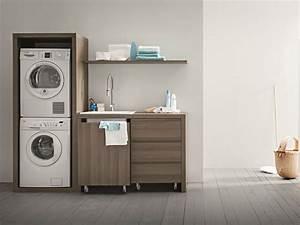 Unterschrank Für Waschmaschine : idrobox waschk che schrank aus ulme by birex ~ Sanjose-hotels-ca.com Haus und Dekorationen