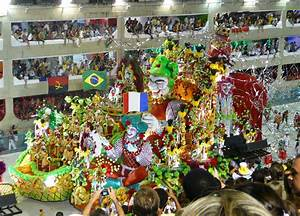 Carnival Brazil Floats